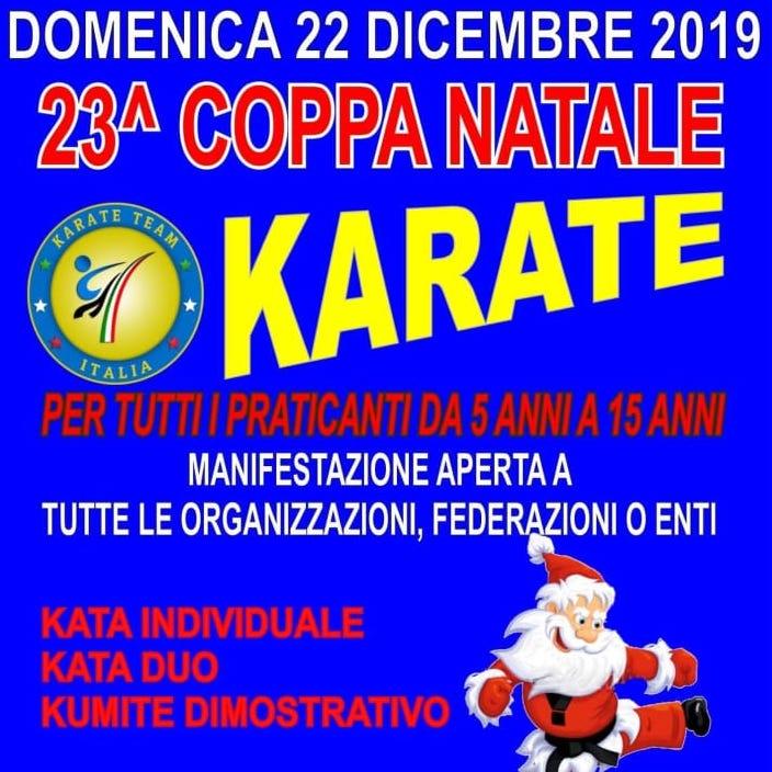 23° Coppa Natale Karate