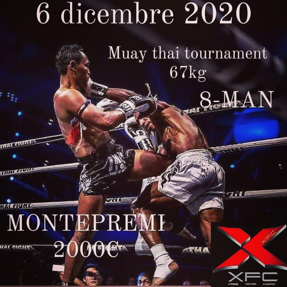 8-MAN Muay Thai  XFC
