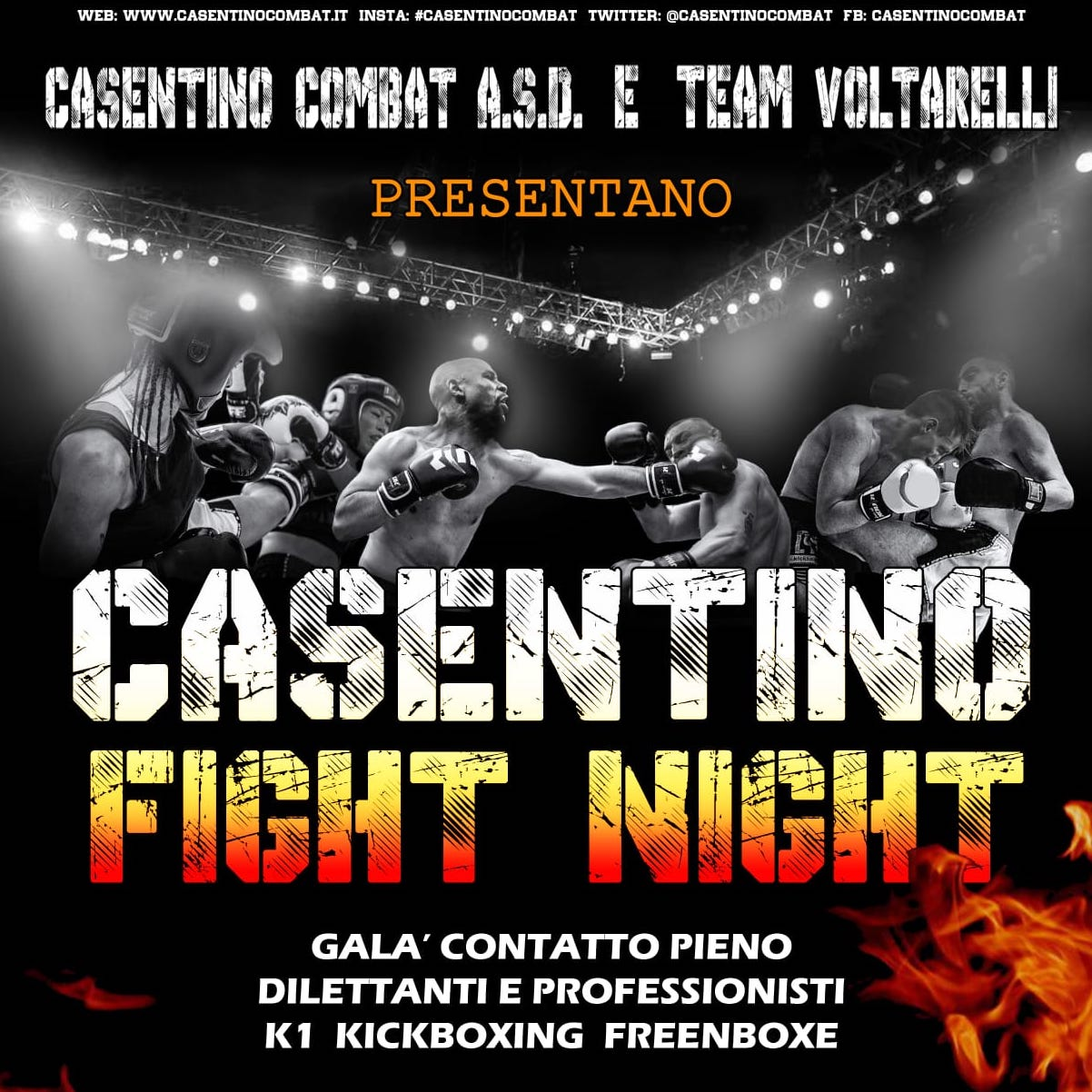 Casentino Fight Night
